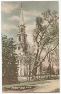 First Congregational Church Old Lyme CT 1940's