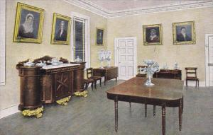 Interior Dining Room At The Hermitage Home Of General Andrew Jackson Nashvill...