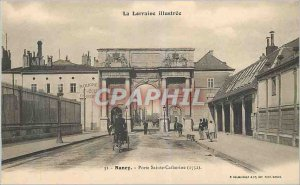 Old Postcard Nancy Lorraine Illustrious Holy Door Catherine
