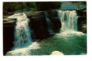 Canadian Rockies, Lundbreck Falls, Lundbreck RIver, Alberta,