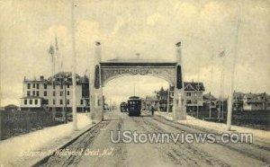 Entrance To Bridge in Wildwood Crest, New Jersey