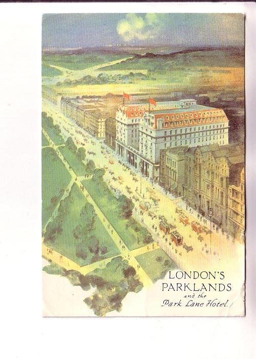 Colour Sketch, Parklands and Park Lane Hotel, London, England