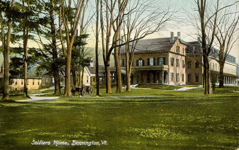 VT - Bennington. Soldiers' Home