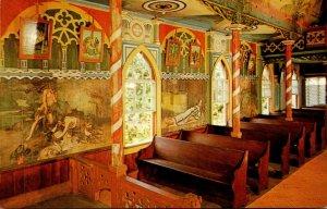 Hawaii Kona Hononunau St Benedict's Catholic Chuch Interior