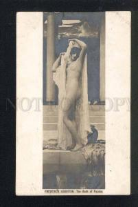 043261 NUDE Magic NYMPH Psyche by LEIGHTON vintage PC