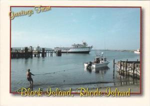 Rhode Island Greetings From Block Island