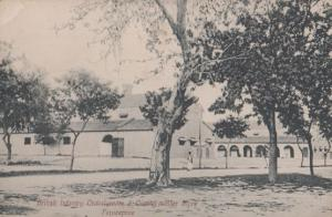 Ferozepore Firozpur British Infantry Indian Military Barracks Store Postcard