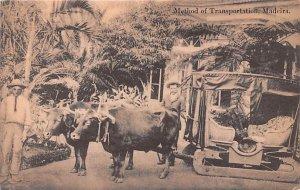 Method of Transportation Madeira Unused
