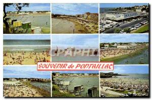Old Postcard Remembrance Pontaillac