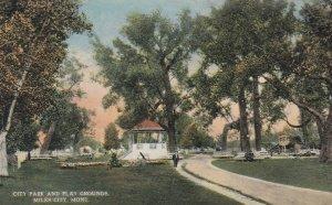 MILES CITY , Montana, 1900-10s ; City Park & Playgrounds