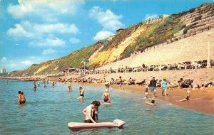 Vintage 70s/80s Dorset Postcard, Esplanade & Cliff Lift, Southbourne, Beach DB2