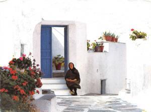 BG12259 old women  types folklore  greece