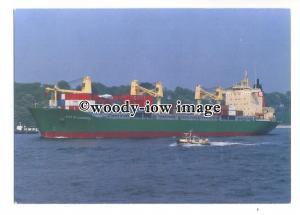 cd0367 - Cargo Ship - City of Liverpool , built 1981 ex Carmen - postcard
