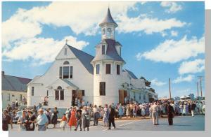 Old Orchard Beach, Maine/ME Postcard, St Margaret Church