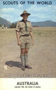 Australia Boy Scouts of America, Scouting Copyright 1968 Unused