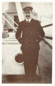 Postcard, Purser Barker lost with RMS Titanic 1912, SIGNED by Millvina Dean BZ5