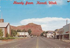 KANAB , Utah , 60-70s ; Main Street