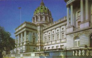 The Capitol Of Pennsylvania Harrisburg Pennsylvania