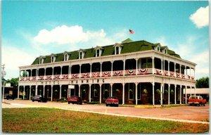 Keosauqua, Iowa Postcard Historic HOTEL MANNING Building View c1980s Unused