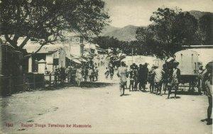india, MUSSOORIE, Rajpur Tonga Terminus, Railway Station (1908) Postcard