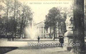 Bruxelles, Belgium, België, la Belgique, Belgien Le Parc et le Palais de la ...