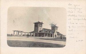 F52/ Kansas City Missouri RPPC Postcard 1908 Swope Park Shelterhouse