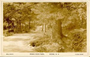 NH - Keene. Robin Hood Park.    *RPPC
