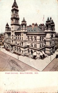 Maryland Baltimore Post Office 1905