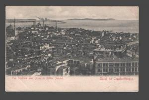 085200 TURKEY CONSTANTINOPLE Mosquee Sultan Achmet Old PC