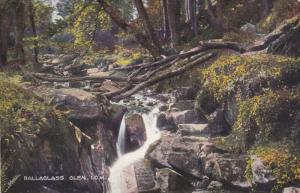 ISLE OF MAN, England, 1900-1910's; Ballaglass Glen