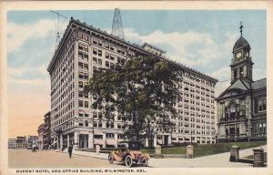 WILMINGTON, Delaware, 1900-1910's; Dupont Hotel And Office Building