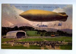 203295 SWITZERLAND Dirigible airship Ville de Lucerne UN stamp