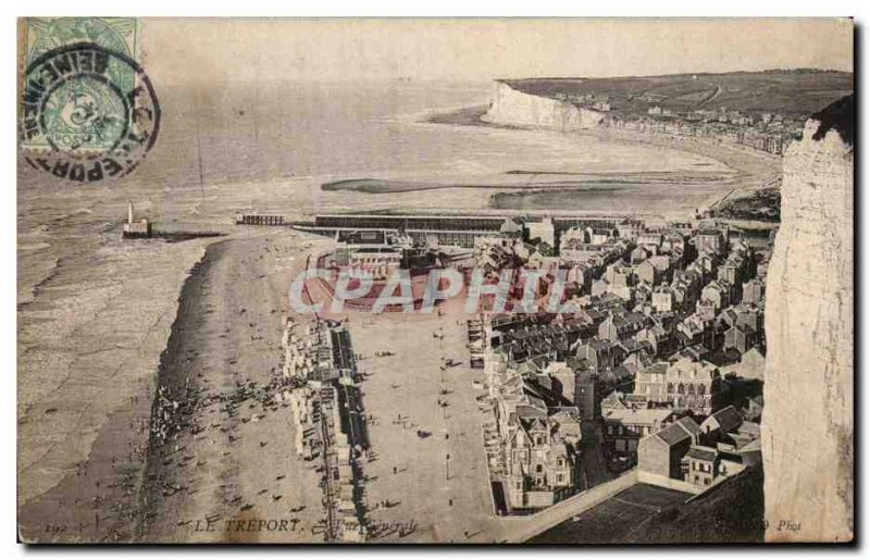 Treport - Vue Generale - Old Postcard
