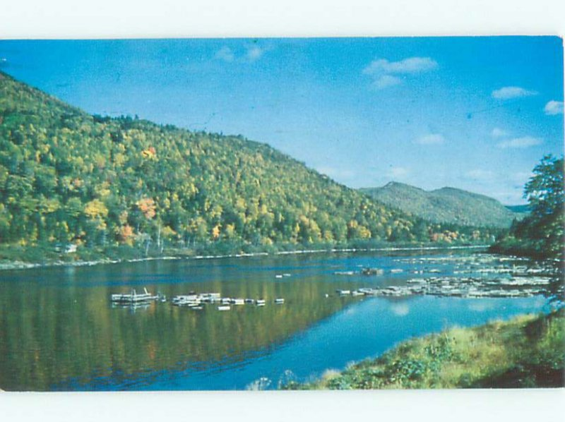 Pre-1980 RIVER SCENE Corner Brook Newfoundland NL AE5712