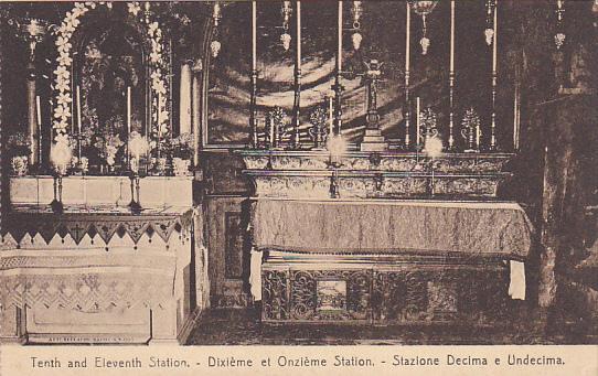 Tenth And Eleventh Station, JERUSALEM, Israel, 1900-1910s