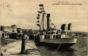 CPA Carteret - Debarcadere du Bateau de Jeryes (633338)