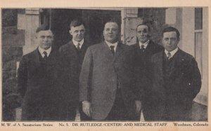 WOODMEN , Colorado , 1917 ; Sanatorium Staff