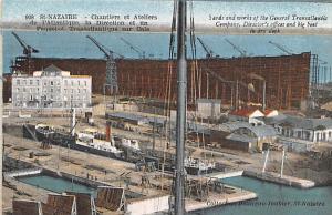 Saint Nazaire France Chantiers et ateliers Saint Nazaire Chantiers et ateliers