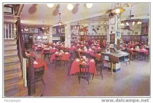 Interior, Old Original Bookbinder's Restaurant 125 Walnut Street Philadelphia PA