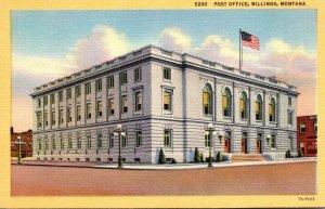 Montana Billings Post Office Curteich
