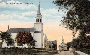 25274 ME, Lubec,The Three Churches