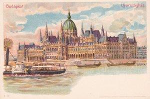 BUDAPEST , Hungary, 1890s ; Uj-orszaghaz