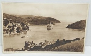 Dartmouth Harbor Mouth Vintage Postcard