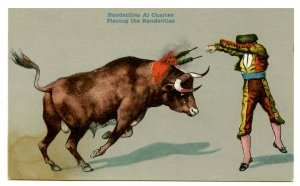 Mexico - Bullfighting. Placing the Banderillas