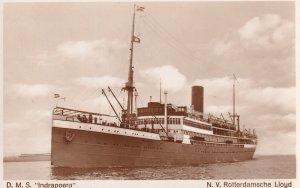 RP: Ocean Liner D.M.S. Indrapoera, N.V. Rotterdamsche Lloyd , 20-30s