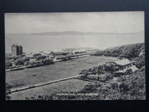 Scotland Ayrshire PORTENCROSS WEST KILBRIDE Old Postcard by McLellan Post Office