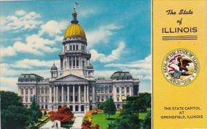 The State Of Illinois The State Capitol At Springfield Illinois