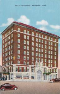 Iowa Waterloo Hotel President 1943