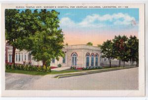 Oleika Temple, Shriners Hospital, Lexington KY