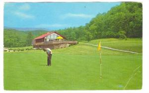 The HOMESTEAD Golf Course,Hot Springs, Virginia, PU-1972